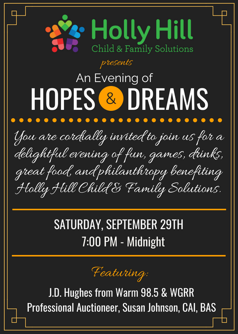 An Evening of Hopes and Dreams Invite